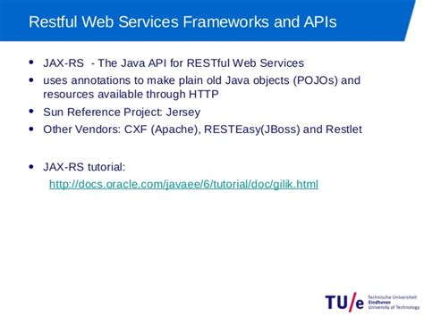tutorial restful web services java using java to implement restful web services jax rs
