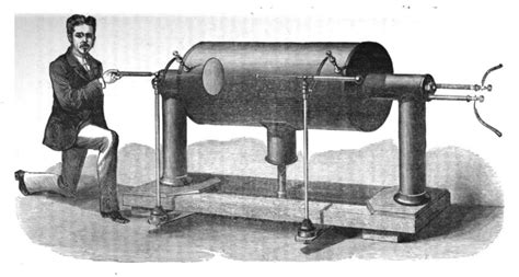 inductance coil gun lateral science mr perkins extraordinary steam gun of 1824