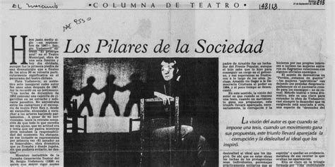 los pilares de la 8466341773 los pilares de la sociedad memoria chilena biblioteca nacional de chile