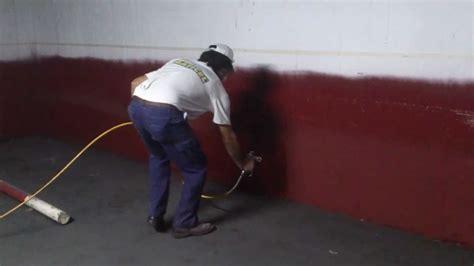 pintar garaje pintar garaje airless paint youtube