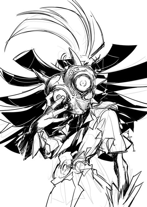skull kid tattoo the imp skull kid the legend of legend