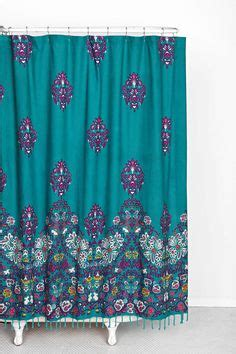 shower curtains home outfitters 1000 ideas about bohemian bathroom on pinterest
