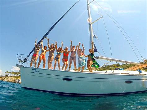 sailing boat cruises half day sailing cruise babasails yachting halkidiki greece