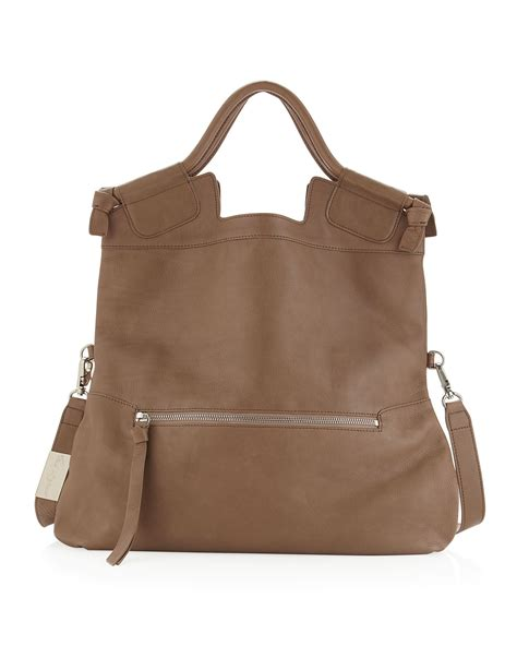 Foley And Corinna City Tote by Foley Corinna Foley Corinna Mid City Tote Bag Latte In