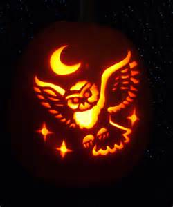 Owl Pumpkin Template by Owl Designs On Owl Stencil Owl Tattoos And