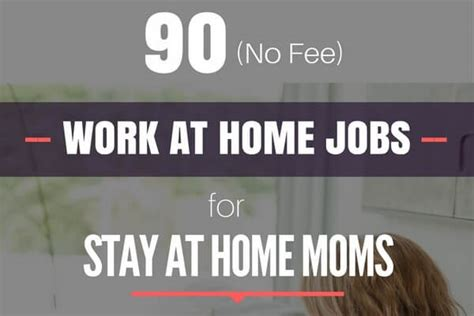90 legit work at home for with no fees or