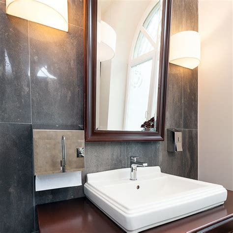 custom size mirrors bathrooms custom size mirror with espresso brown frame