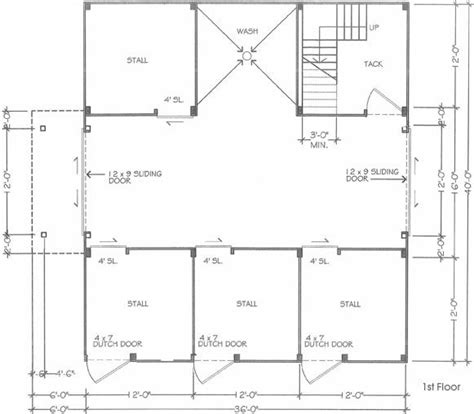horse barn floor plans horse barn floor plans barn style pinterest