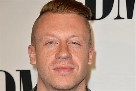 macklemore tells critic he got rid of his haircut