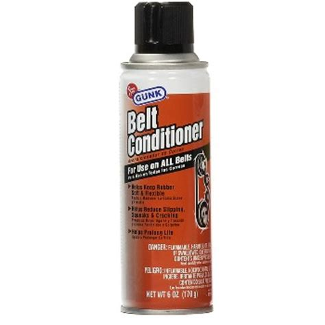 buy the gunk m2 06 belt conditioner dressing 6oz spray