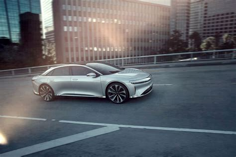 Electric Car Options by Electric Car Startup Lucid Motors Is Of And