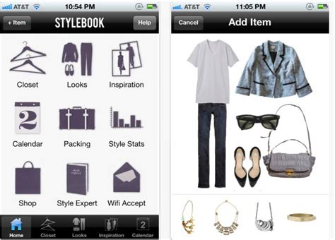 the 5 best fashion apps and to help you organize