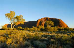 Early New Zealand Photography Images And Essays by Early Morning At Uluru