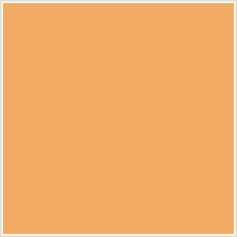 brown orange color f2ac66 hex color rgb 242 172 102 orange sandy brown