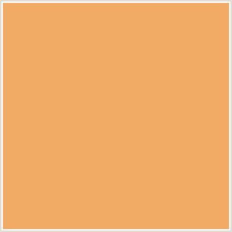 brown orange color f2ac66 hex color rgb 242 172 102 orange brown
