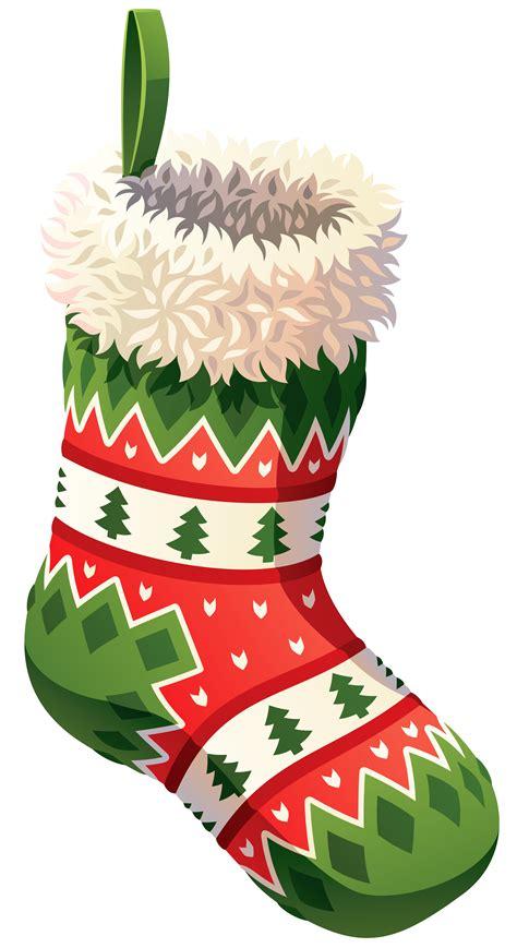 Stocking Christmas Clipart   ClipartXtras