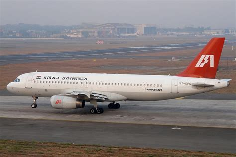 Infus Air indian airlines flight 605