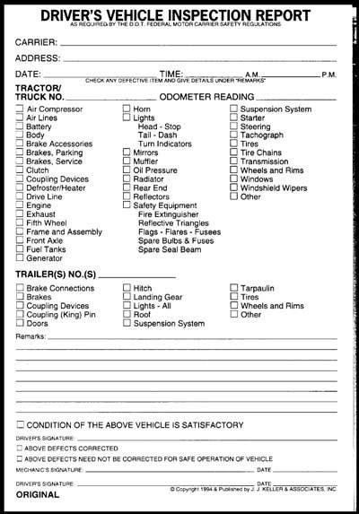 Niosh Face Program Kentucky Case Report 06ky079 Cdc Niosh Weekly Vehicle Inspection Report Template