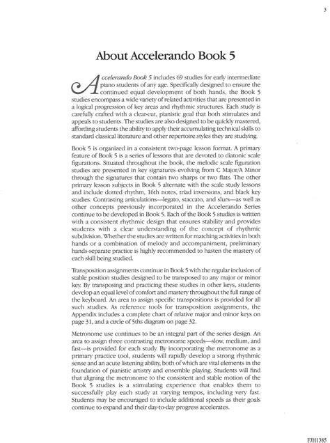 Accelerando Book 5   Schultz Music Publications