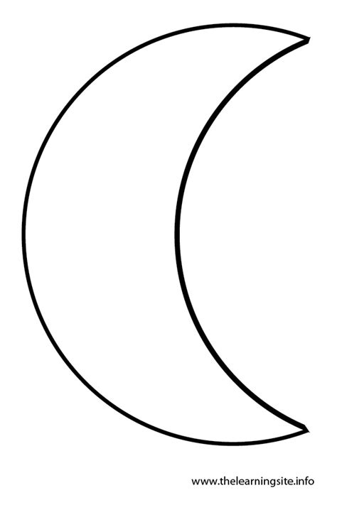 preschool coloring pages moon free coloring pages of crescent