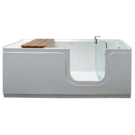 Freestanding Tub Right Drain Homeward Bath Aquarite 5 Ft Right Drain Freestanding Step