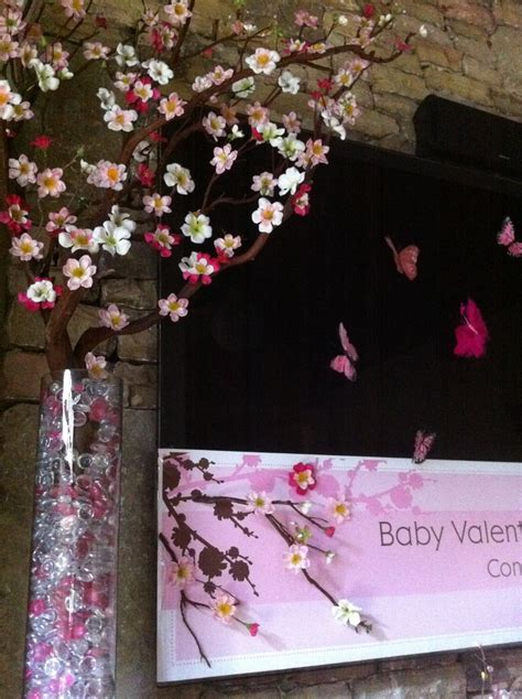 Cherry Blossom Baby Shower by 1000 Images About Ideas On High