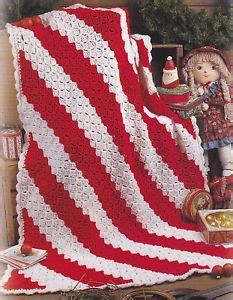 pattern for starlight christmas afghan crochet pattern candy cane throw afghan christmas