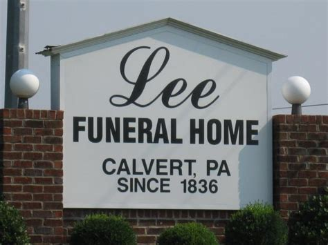 funeral home calvert p a owings maryland