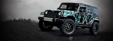 Jeep Moon Camo Wrap For Jeep