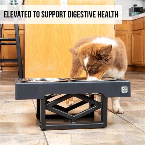 pet zone designer diner adjustable elevated pet feeder