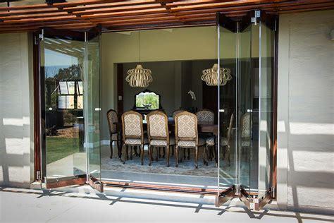 Frameless Folding Glass Doors Frameless Glass Doors Acht Windows Doors