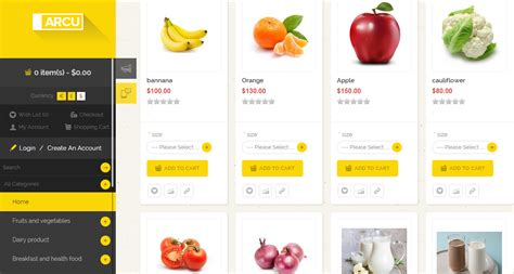 web store layout design create your online grocery store make your own online store