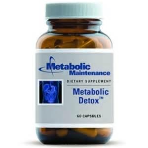 Metabolic Detox by Metabolic Detox 60c By Metabolic Maintenance
