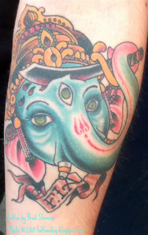 ganesh elephant tattoo designs tattoosday a tattoo blog travis and another perspective