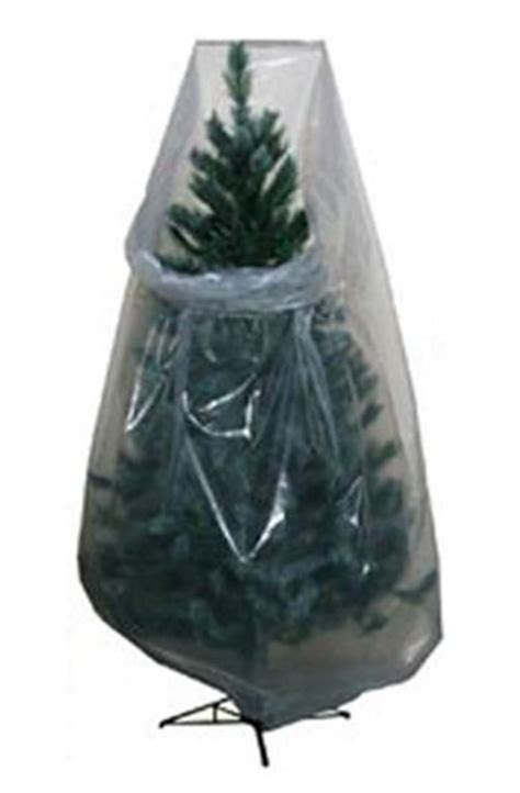 clear poly vinyl christmas tree storage bags 15 86