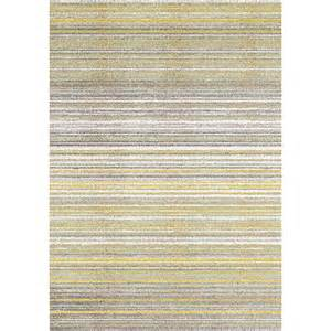 cord rug safi striped grey yellow cords rug
