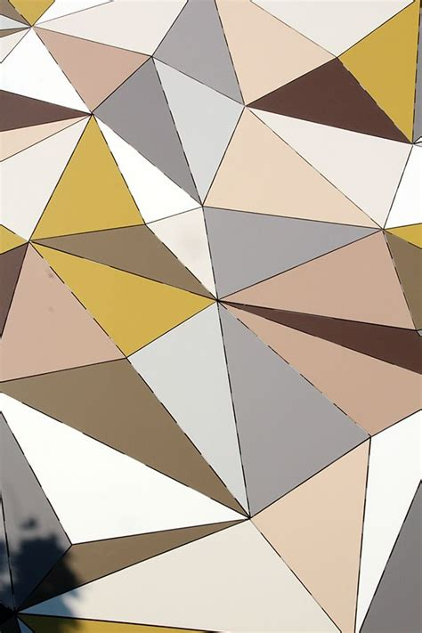 triangle pattern highlights 16 best images about new 3d facade material on pinterest