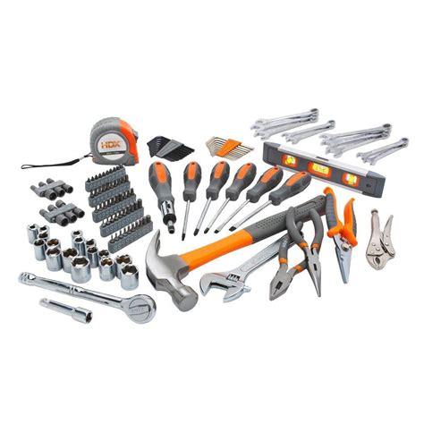 tool set hdx homeowner s tool set 137 h137hos the home depot