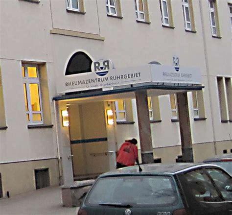 krankenhaus wanne eickel bilder und fotos zu rheumazentrum ruhrgebiet st josefs