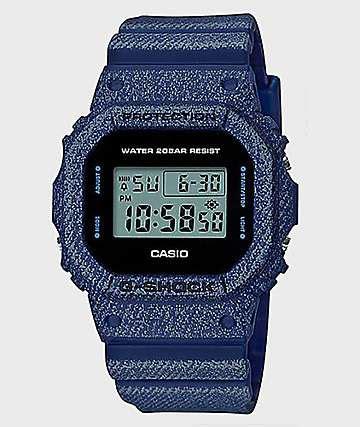 Terbaru G Shock Gls 5600 Denim Blue G Shock Watches Zumiez