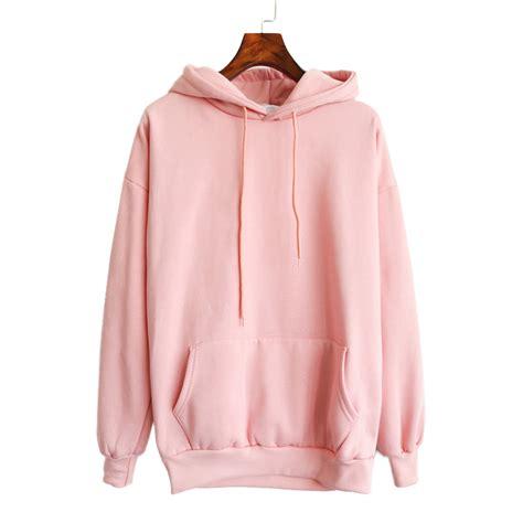 design womens hoodie 2016 new women pink hoodies sweatshirt casual harajuku