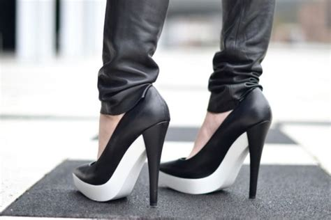 black high heel shoes with soles shoes white sole high heels black shoes wheretoget