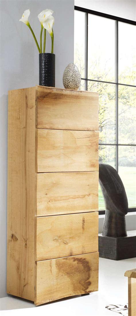 kommode 130 cm hoch kommode woodline eiche hoch schubkasten astor