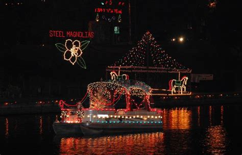 Natchitoches Lights by 30 Most Small Towns For The Holidays Top Value