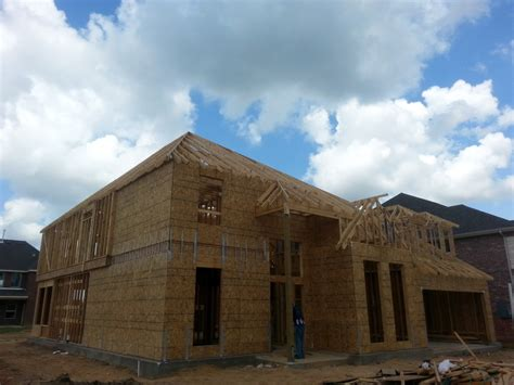 Houston Home Builders by Framing Carpentry