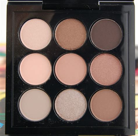 Eyeshadow X9 fotd macnificent me eye shadow x 9 palette a lusty blush and it s really me