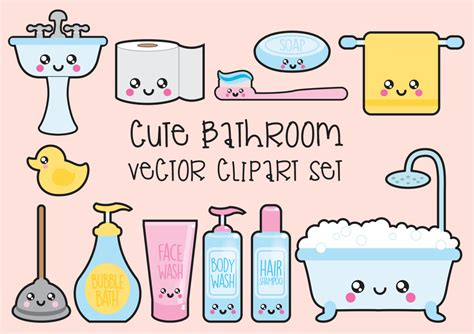 kawaii clipart premium vector clipart kawaii bathroom clipart kawaii