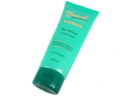 Nourish Pembersih Wajah Review Nourish Care Foam Whitening Series
