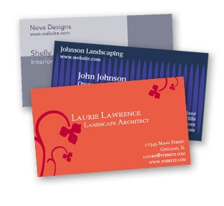 how to make a successful business card businesscardland ordering printed business cards from