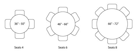 table seats 6 dimensions what size table top do i need for my dining table